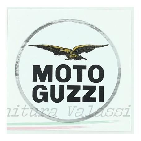 "Adesivo ""Moto Guzzi"" tondo cromo d.6 cm 70.612 Adesivi vari4,00€ 4,00€"