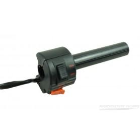 """Deviatore luci DX. """"CEV"""" completo di comando gas Guzzi NTX ... 08.217/C  - 27603400 Deviatori luci/frecce /dispositivi elettr..."""