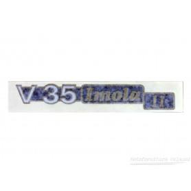 """Scritta """"V35 Imola II"""" 70.556 Decalcomanie scritte coperchi laterali5,10€ 5,10€"""