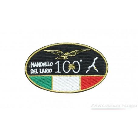 """Toppa ovale piccola termoadesiva centenario """"Moto Guzzi"""" 60.005 Centenario """"MOTO GUZZI""""7,00€ 7,00€"""