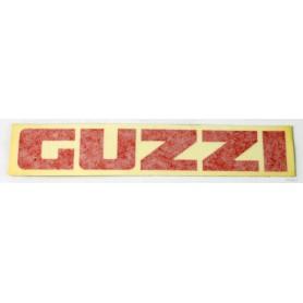 """Scritta \\""""Guzzi\\"""" serbatoio V35TT/V65TT bianco - rosso 70.204 Decalcomanie scritte e profili serbatoio3,00€ 3,00€"""