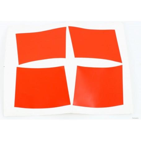 Kit adesivi arancio per cupolino LM II (4 pz) 70.402 Decalcomanie cupolino - codino - fregi cassette5,00€ 5,00€