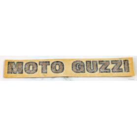 """Scritta """"Moto Guzzi"""" per sella V35 Imola / LM 70.420 Decalcomanie cupolino - codino - fregi cassette2,00€ 2,00€"""