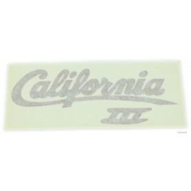 """Scritta """"California III"""" rosso/oro 70.521 Decalcomanie scritte coperchi laterali5,50€ 5,50€"""