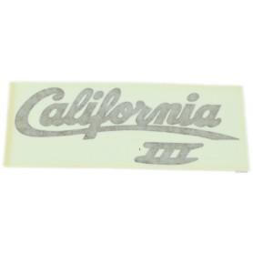 """Scritta """"California III"""" amaranto/oro 70.522 Decalcomanie scritte coperchi laterali5,50€ 5,50€"""