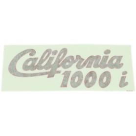 """Scritta """"California 1000 I"""" iniezione 70.523 Decalcomanie scritte coperchi laterali5,50€ 5,50€"""