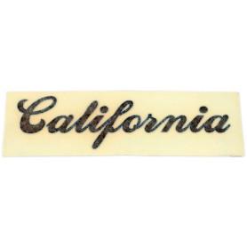 """Scritta \\""""California\\"""" in corsivo 70.524 Decalcomanie scritte coperchi laterali5,50€ 5,50€"""
