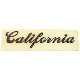 """Scritta """"California"""" in corsivo 70.524 Decalcomanie scritte coperchi laterali5,50€ 5,50€"""