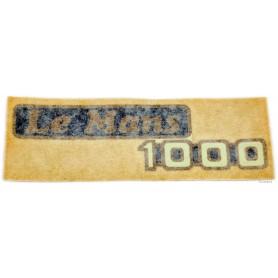"""Scritta """"Le Mans 1000"""" 70.530 Decalcomanie scritte coperchi laterali5,50€ 5,50€"""