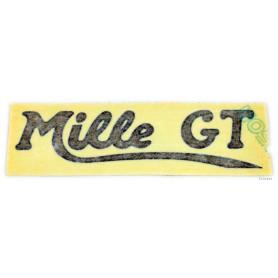 """Scritta """"Mille GT"""" 70.531 Decalcomanie scritte coperchi laterali5,50€ 5,50€"""