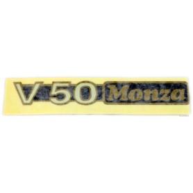 """Scritta \\""""V50 Monza\\"""" 70.555 Decalcomanie scritte coperchi laterali5,10€ 5,10€"""