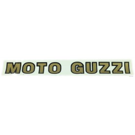 """Adesivo scritta """"MOTO GUZZI"""" oro 33,5 cm 70.610 Adesivi vari6,00€ 6,00€"""