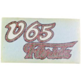 """Scritta \\""""V65 Florida\\"""" 70.560 Decalcomanie scritte coperchi laterali6,00€ 6,00€"""